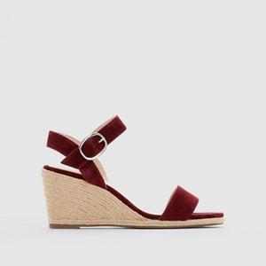 Buckle Wedge Sandals JONAK