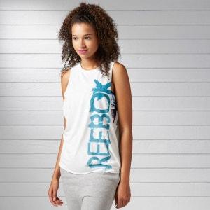 Tee-shirt sans manches logo Reebok REEBOK