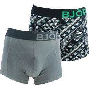 Boxers homme - Multicolore - Pack de 2 BJORN BORG