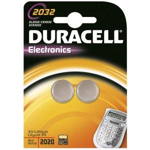 Pile DURACELL Lithium DL 2032 x2 DURACELL