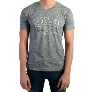 Tee Shirt Redskins Enfants Ocean Grey Melange REDSKINS