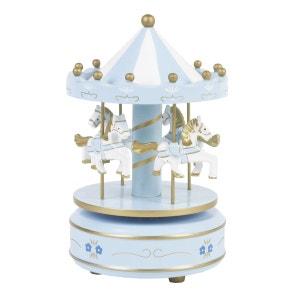 Carrousel musical - Bois FEERIE CHRISTMAS