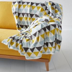 Plaid de punto tricot jacquard, Odda La Redoute Interieurs