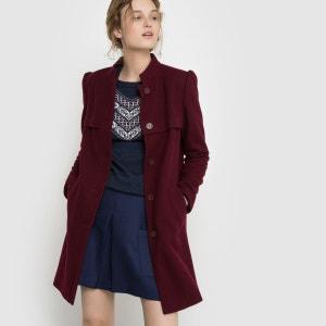 Manteau droit col montant MADEMOISELLE R