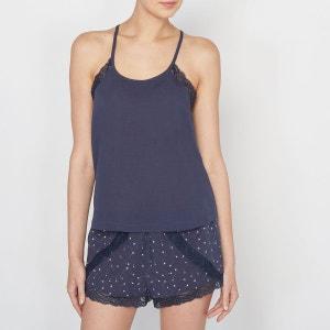 Pyjashort finition dentelle La Redoute Collections