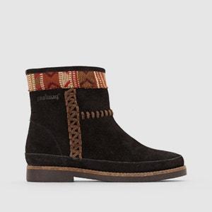 Boots en cuir suédé à motifs Babete COOLWAY