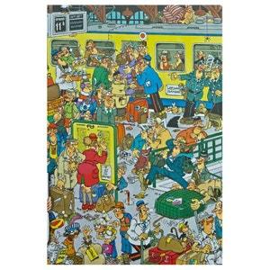 Jan van Haasteren - Puzzle Comic 500 La Gare - DIS617318 JUMBO