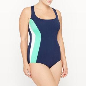 Crossover Back Pool Swimsuit CASTALUNA