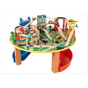 Table et circuit train City Explorer's KIDKRAFT