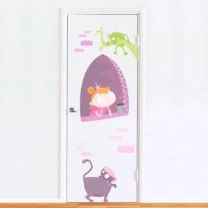 Sticker de Porte : Princesse DECOLOOPIO