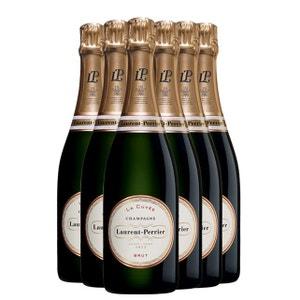 La Cuvee Bouteille lot de 6 bouteilles avec etui CHAMPAGNE LAURENT-PERRIER
