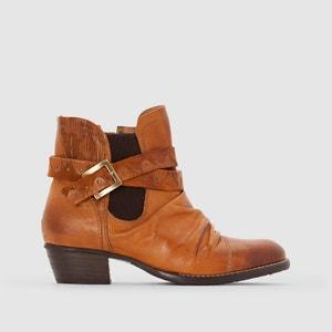 Boots en cuir à bride Ruth DKODE