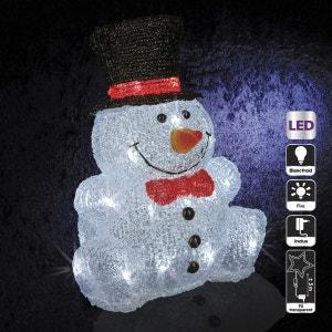 Décoration de Noël d'extérieur Lumineuse - Bonhomme de neige ATMOSPHERA