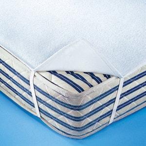 Proteção para colchão dupla face, moletão e turco modelo plano, impermeável e respirante La Redoute Interieurs
