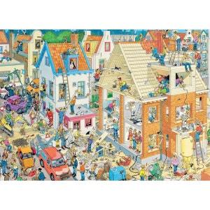 Jan van Haasteren - Puzzle Comic 1500 Le Chantier - DIS617461 JUMBO