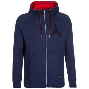 Sweat Nike PSG Hoodie Full-zip Authentic - Ref. 810292-410 NIKE