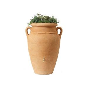 Kit Amphore Antik - Bac à plantes + collecteur + robinet - 600 L Sable GARANTIA