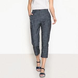 Pantaloni a pinocchietto stretch ricamati ANNE WEYBURN