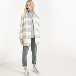 Striped A-Line Coat R essentiel