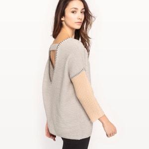 Dwukolorowy sweter VILA