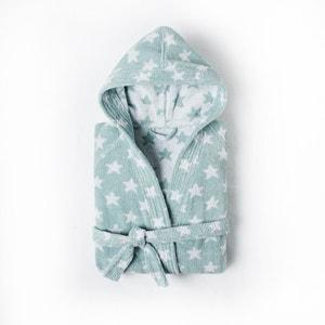 Peignoir enfant à capuche STARS 100% coton. La Redoute Interieurs