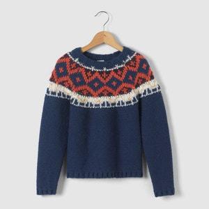 Ciepły, żakardowy sweter 3-12 lat abcd'R