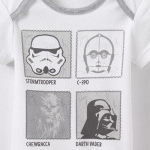 Star Wars Short-Sleeved Bodysuit, Birth - 3 Years STAR WARS
