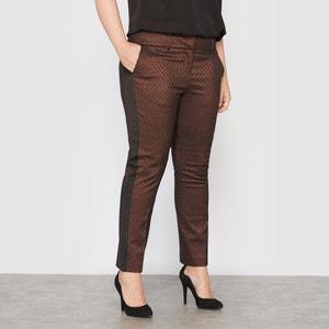 Jacquard 7/8 Trousers CASTALUNA