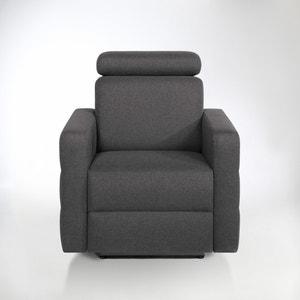 Elektrische relax zetel in mêlee stof, Hyriel La Redoute Interieurs
