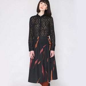 Printed High Waist Skirt PEPALOVES