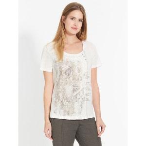 Tee-shirt bi-matière CELAIA