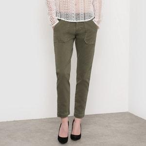Slim Fit Cropped Trousers LE TEMPS DES CERISES