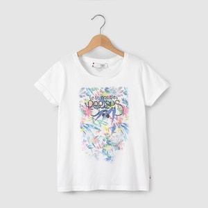 T-shirt com estampado flores 8-16 anos LE TEMPS DES CERISES