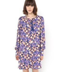 FOLK Floral Print Dress MADEMOISELLE R