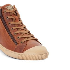 Hoge sneakers in leer Bumper PATAUGAS