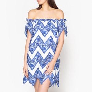 Kleid BLUSH mit Volant VALERIE KHALFON