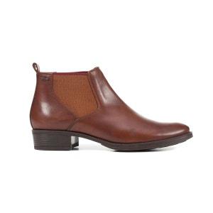 Boots cuir Mendi GEOX
