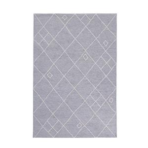 Plat geweven tapijt AZUREO met fluwelen aspect La Redoute Interieurs