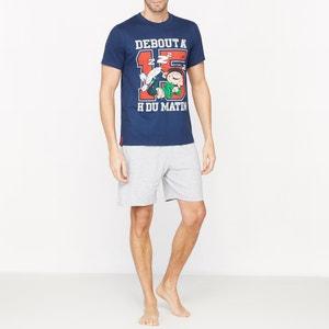 Pyjashort imprimé manches courtes GASTON LAGAFFE