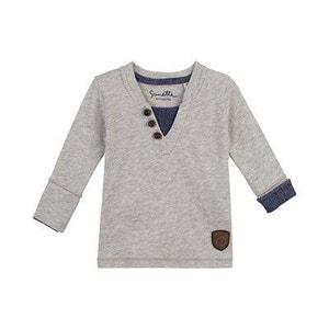 SANETTA Le T-shirt à manches longues avec empiècement top bébé vêtements bébé SANETTA