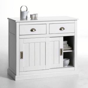INQALUIT 2-Door/Drawer Solid Pine Sideboard La Redoute Interieurs