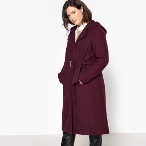 Manteau à capuche ceinturé CASTALUNA