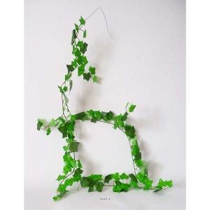 guirlande de lierre Vert 180 cm armee 57 branches 120 feuilles - choisissez votre coloris: Vert ARTIF-DECO