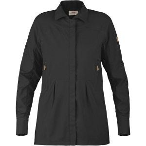 Abisko Breeze - T-shirt manches longues - gris/noir FJALLRAVEN