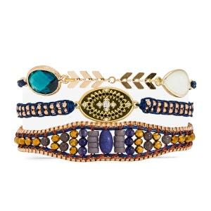 Bracelet femme bleu Cozy-Link HIPANEMA