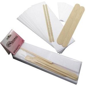 Kit épilation papiers + spatules COSMETICS UNITED