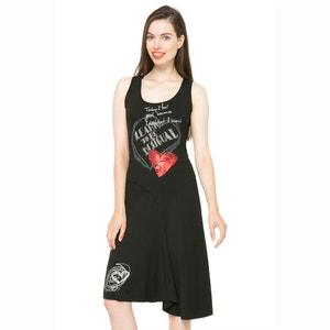 Robe sans manches, imprimé, asymétrique  DESIGUAL, Vest Alexandra DESIGUAL
