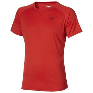 Training - T-shirt course à pied Homme - rouge ASICS