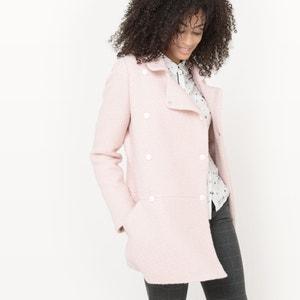 Pink 60sBoucléCoat MADEMOISELLE R