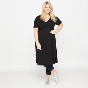 T-shirt modello tunica lunga CASTALUNA